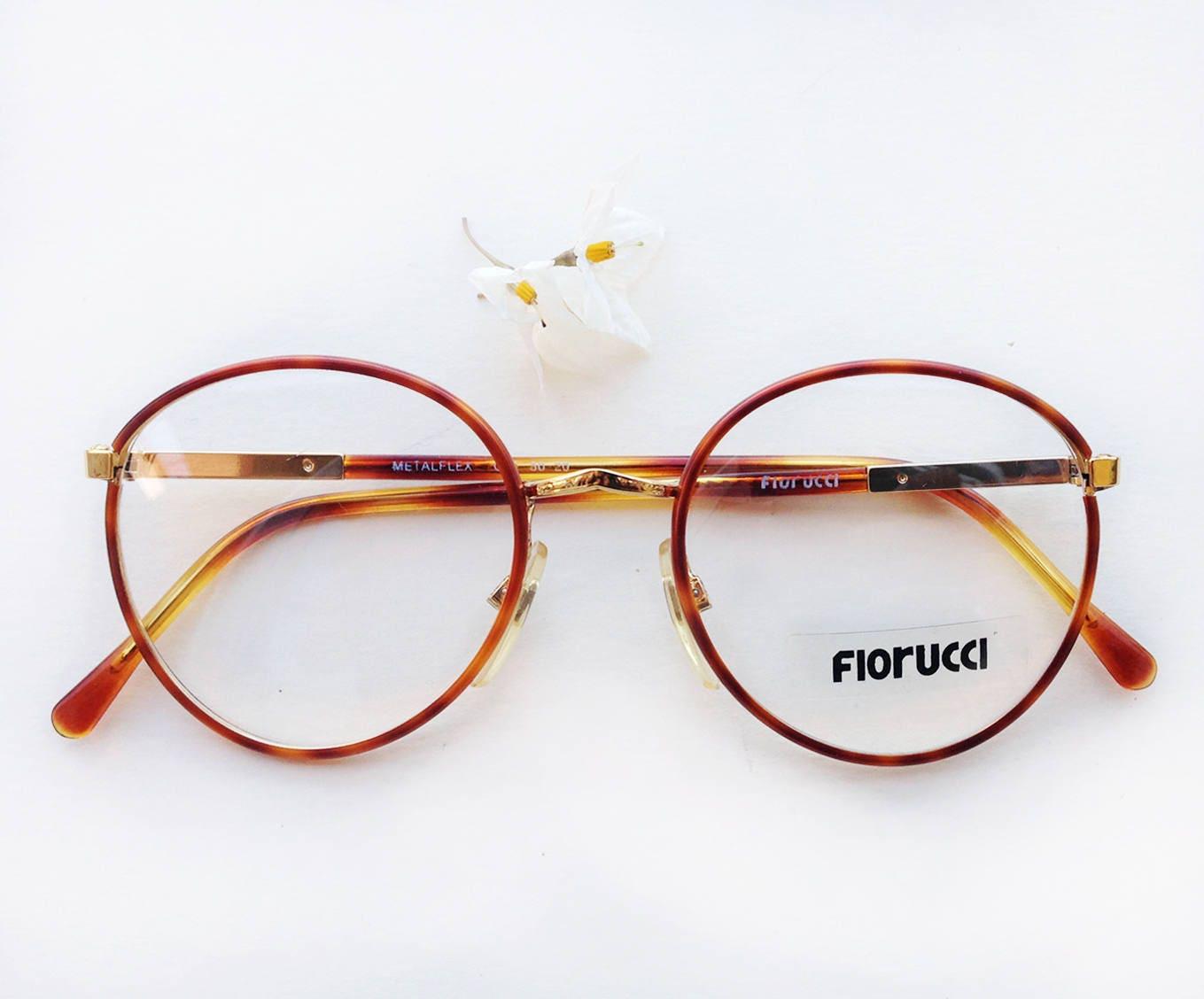 80er Jahre Fiorucci Brillen / NOS Deadstock Entwerfer Rahmen / | Etsy