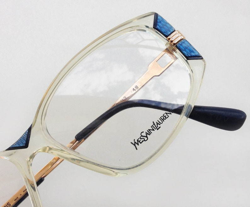 a2e349f002b YVES SAINT LAURENT New eyeglass   Vintage Ysl Paris Eyeglasses