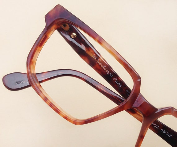 66e761a424f YVES SAINT LAURENT Mopsos eyeglass   1980s Ysl