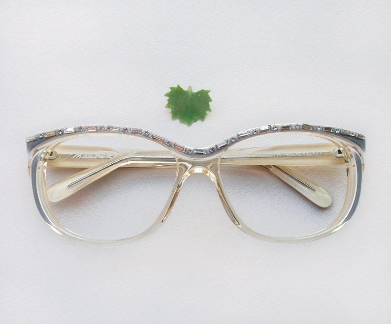 1ad883542aa Monture lunettes Vintage années 80 Marion Ramm   lunette