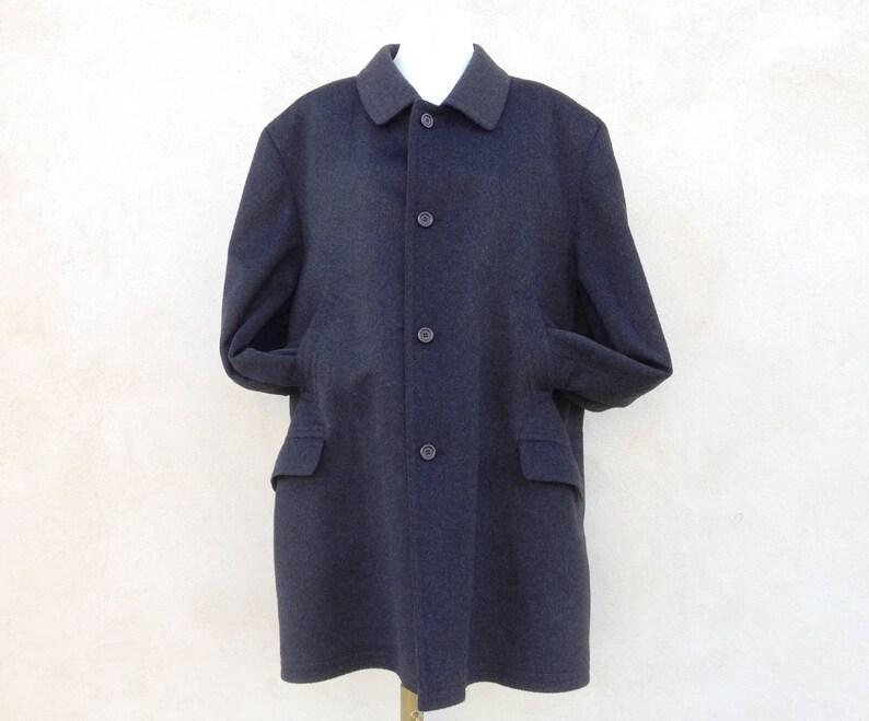 Loden Originale da uomo color grigio scuro Vintage in ottime  ae1fd94f552e