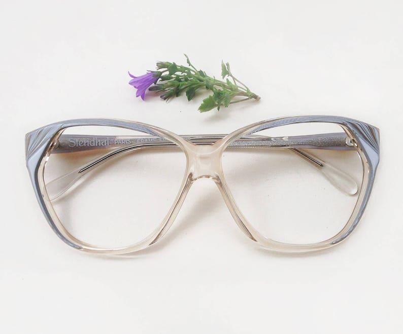 c71566e8caafd Monture lunettes Vintage années 80 Stendhal Paris   papillon