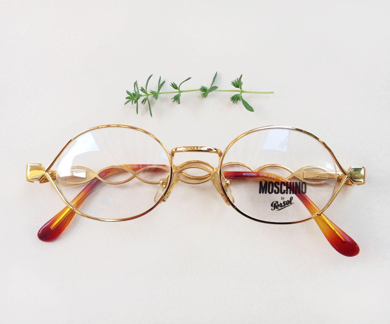 Moschino Persol Brillen / Nein-Maschinen und | Etsy