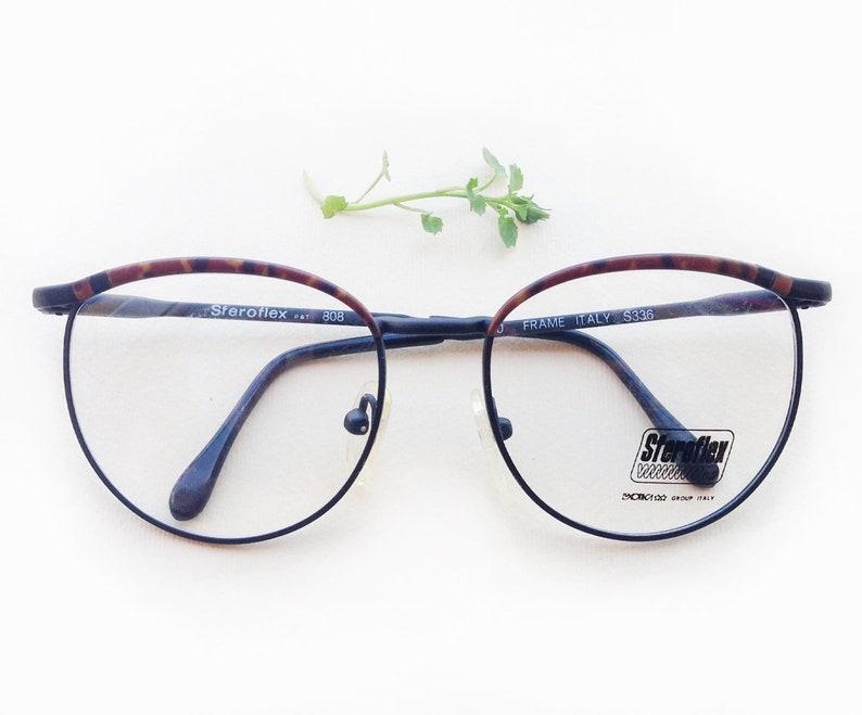 2f20915da360e 80s Sferoflex Eyeglasses   NOS deadstock designer frames