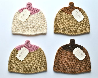Newborn Boobie Breastfeeding Hat - Baby Hat