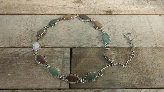 Vintage Gemstone Belt Bohemian Hippie Accessories