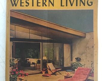 House Construction Details Nelson L Burbank 1959 Mid Century Etsy