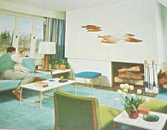 1956 Mitte Jahrhundert Moderne Dekoration Buchen Sie Besser Häuser Gärten  432 Pg