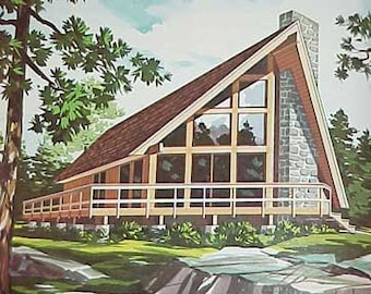 MID CENTURY MODERN Leisure Home plans Dome Vacation house plans Popular Science