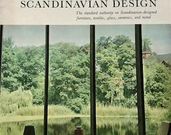 A Treasury Of Scandinavian Design Eric Zahle 1961 Mid Century Modern Design book