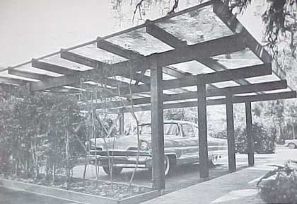 1960s MID CENTURY MODERN Carports and Garages design book on home attached carports, home covered parking ideas, home storage ideas, home garage ideas, home shed ideas, home shop ideas, home chimney ideas, home awning ideas, home fireplace ideas, home driveway ideas, home tennis court ideas, home gazebo ideas, home portico ideas, home depot carport kits, home bbq ideas, home loft ideas, home roof ideas, home pantry ideas, home heating ideas, home elevator ideas,