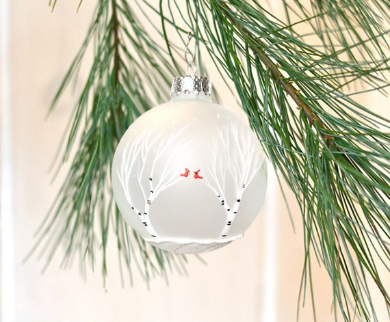 Rustic Winter Wedding Favor Christmas Ornaments Etsy