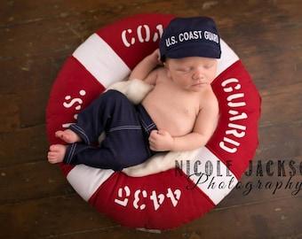 Coast Guard Baby Military Cap