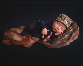 AIR FORCE ABU Baby Military Cap, Air Force Baby, Military Hat, newborn Air Force cap
