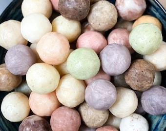 Soap balls - set of 6 mini soaps