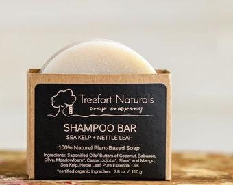 Shampoo Bars - Sea Kelp + Nettle Leaf