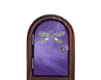 Purple Dragonfly Etsy