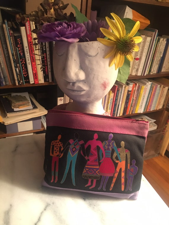 Vintage Laurel Burch clutch purse