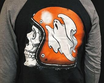 Sale! Ride Like A Ghost Baseball Tee