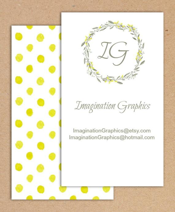 Tlchargement Numrique Graphique Bricolage Carte De Visite 2 Blancs Face Jaune Et Gris Cartes
