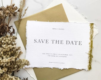 Rose Save the Date Sample