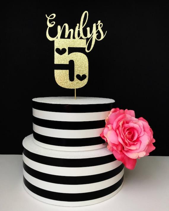 Fine Personalized Birthday Cake Topper Etsy Personalised Birthday Cards Petedlily Jamesorg