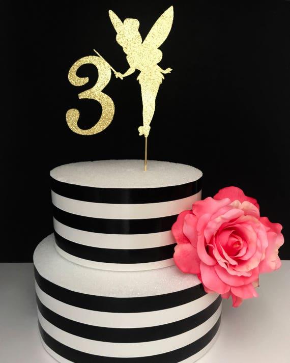Fairy Cake Topper Centerpiece Tinkerbell