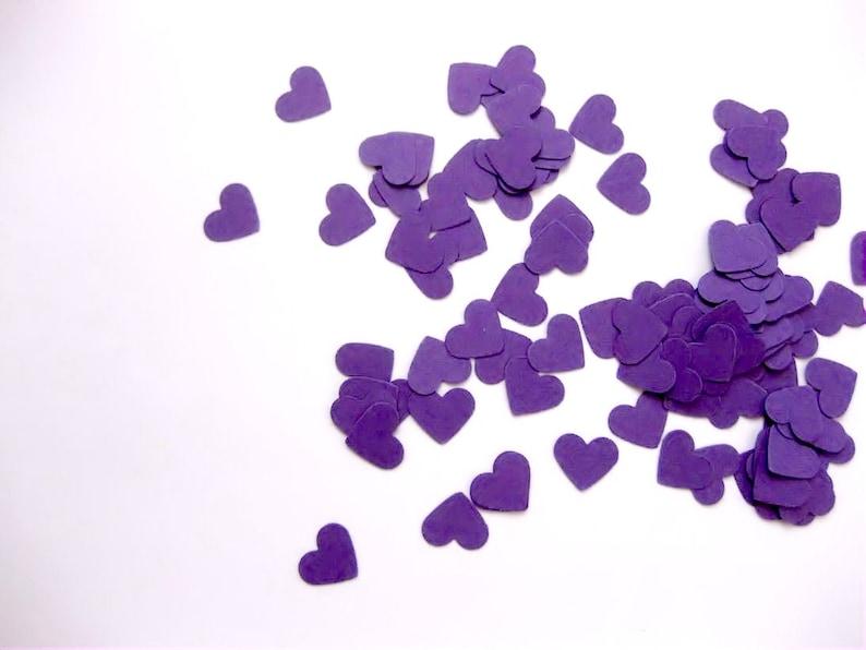 Mini Heart Confetti Valentines Day Confetti Die Cuts  image 0