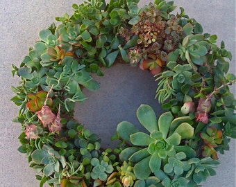 Free Shipping, 11 inch DIY Wreath, Mothers Day Gift, Christmas, Birthday