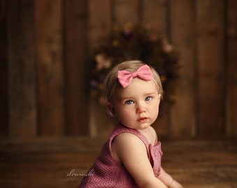 Baby Girl Knit Romper, Sitter Knit Outfit, Knit Baby Outfit, Infant Photography Prop, Baby Photo Shoot Outfit, Knit Baby Outfit