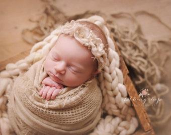 Newborn Baby Wrap, Soft Textured Wrap, Long Baby Wrap, Newborn Layering Fabric, 6 colors! RTS