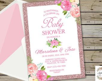 Baby Shower Dorado Etsy