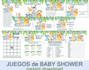 Baby Shower Verde Etsy
