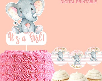 Popular Items For Elephant Baby Shower