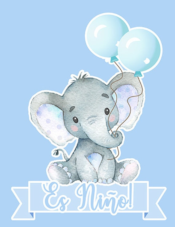 Baby elephant pillow | Etsy