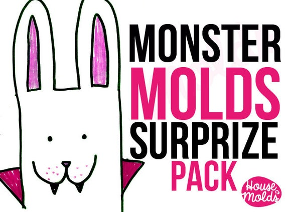 Molds Mistery pack ! inside 7 molds with imperfect parts or lightly used from us  Super Offer Price from houseofmolds