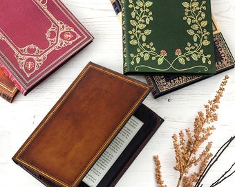 Kindle Case with Classic Book Covers