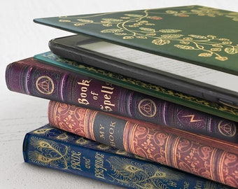 Kindle Oasis Case with Foldback Book Cover by KleverCase