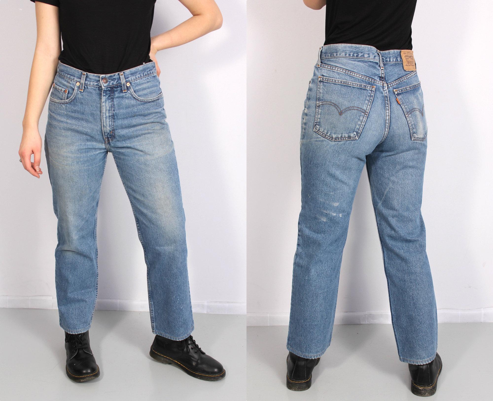 48f7413a Vintage Levis 630 Jeans / Levis W34 L36 Jeans / Blue Levis | Etsy