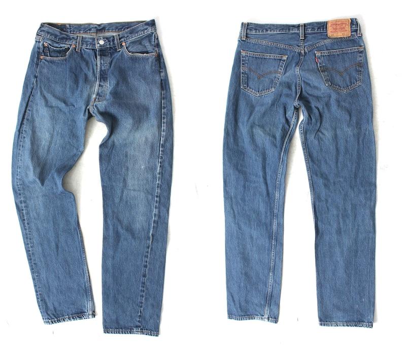 c866b02ff7678 Vintage Levis Jeans   Levis 501 Jeans   Levis W34 L34   Man