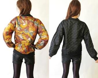 Vintage Two Sided Bomber Jacket