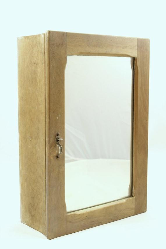 marvelous Medicine Cabinet Etsy Part - 15: Vintage Wood Medicine Chest Primitive Medicine Cabinet | Etsy