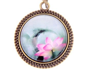 Lotus Necklace Jewelry, 2020C