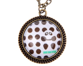 Panda Necklace, 2525C