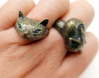 Cat fox Ring