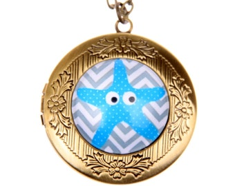 Necklace locket Star of the Sea 2020m