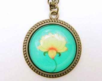 Lotus Necklace, 2525C