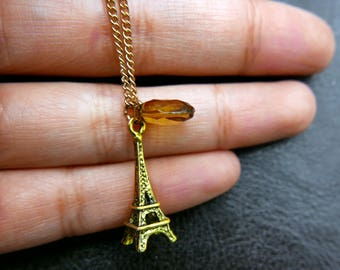 Eiffel Tower Necklace,