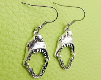 Shark Earrings stainless steel
