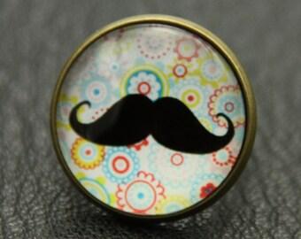 Mustache Ring, Mustache jewelry 2020b